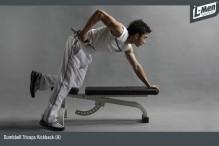 Dumbbell Triceps Kickback (A)