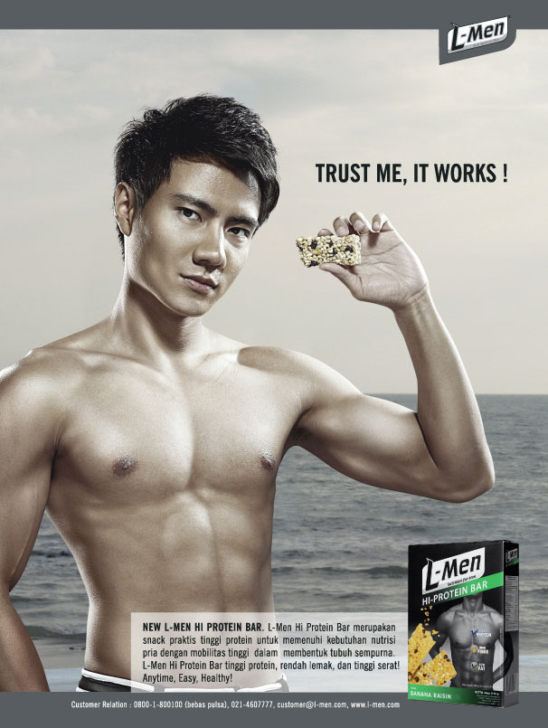 Men Hi-Protein Bar: Anytime, Easy, Healthy!