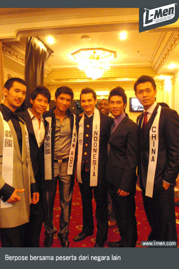 NEWS - XII/2009 - Mister International 2009: Indonesia terpilih sebagai Top 15!