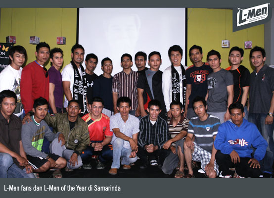 L-Men fans dan L-Men of the Year di Samarinda