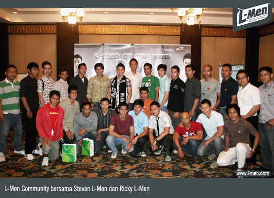 L-Men Community bersama Steven L-Men dan Ricky L-Men