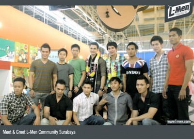 NEWS - V/2010 - L-Men Community Meet and Greet L-Men of the Year Surabaya