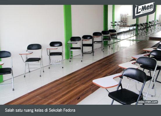 Salah satu ruang kelas di Sekolah Fedora