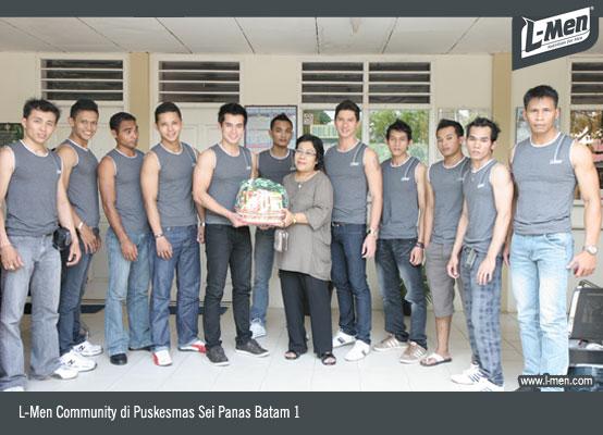 L-Men Community di Puskesmas Sei Panas Batam 1