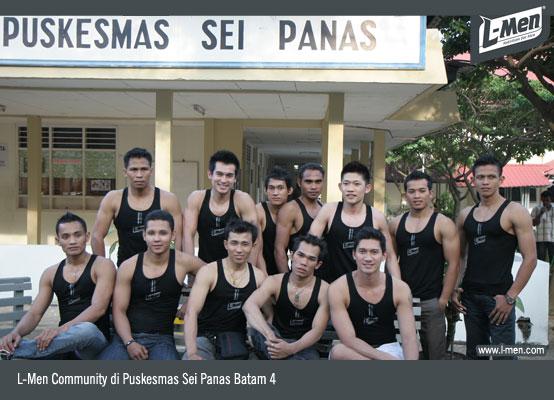L-Men Community di Puskesmas Sei Panas Batam 4