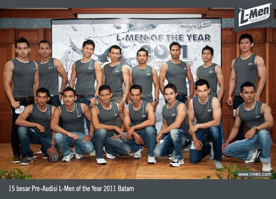 15 besar Pre-Audisi L-Men of the Year 2011 Batam