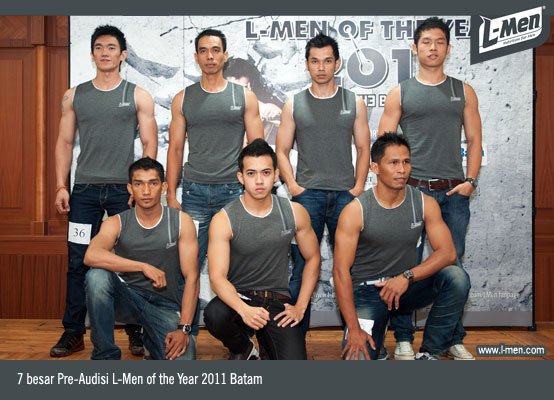 7 besar Pre-Audisi L-Men of the Year 2011 Batam