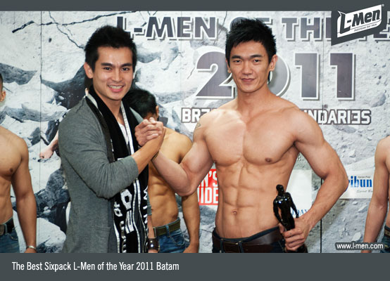 The Best Sixpack L-Men of the Year 2011 Batam