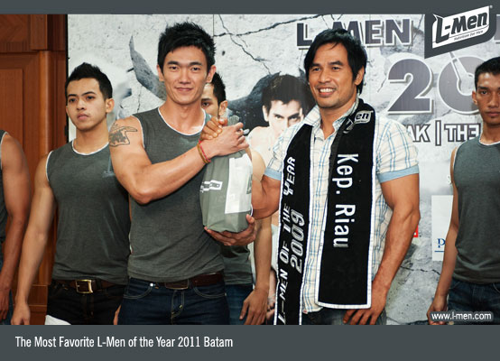 The Most Favorite L-Men of the Year 2011 Batam