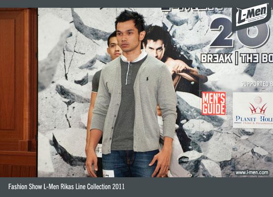 Fashion Show L-Men Rikas Line Collection 2011
