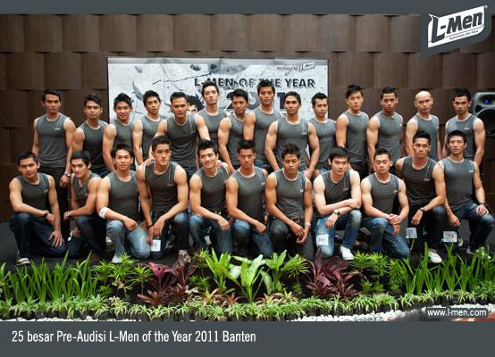 25 besar Pre-Audisi L-Men of the Year 2011 Banten