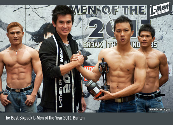 The Best Sixpack L-Men of the Year 2011 Banten