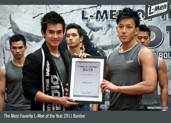 The Most Favorite L-Men of the Year 2011 Banten