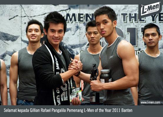 Selamat kepada Gillian Rafael Pangalila, Pemenang L-Men of the Year 2011 Banten