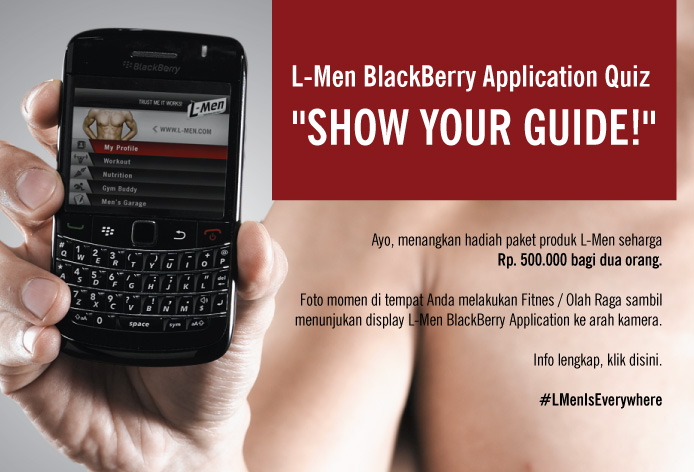 L-Men BlackBerry Application Quiz