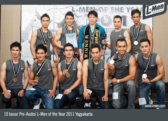 10 besar Pre-Audisi L-Men of the Year 2011 Yogyakarta