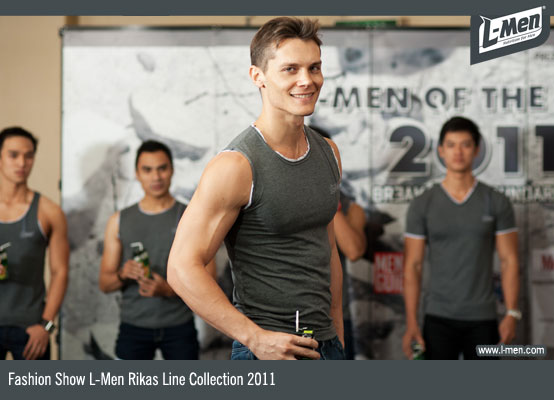 Fashion Show L-Men Rikas Line Collection 2011