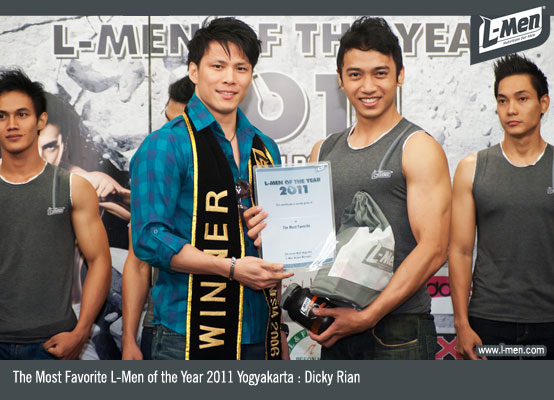 The Most Favorite L-Men of the Year 2011 Yogyakarta : Dicky Rian