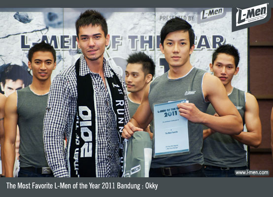 The Most Favorite L-Men of the Year 2011 Bandung : Okky