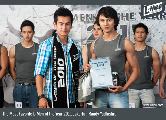 The Most Favorite L-Men of the Year 2011 Yogyakarta : Randy Yudhistira