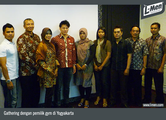 Gathering dengan pemilik gym di Yogyakarta