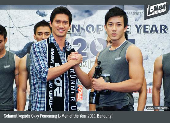 Selamat kepada Okky, Pemenang L-Men of the Year 2011 Bandung