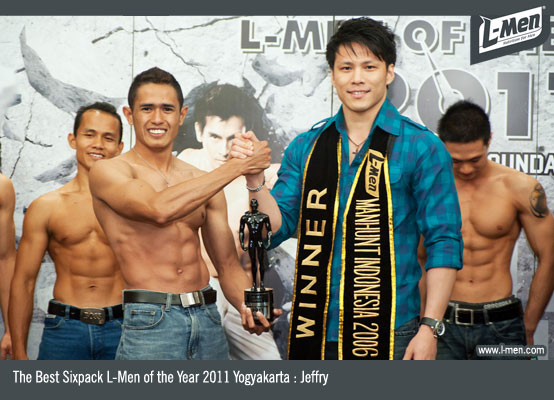 The Best Sixpack L-Men of the Year 2011 Yogyakarta : Jeffry