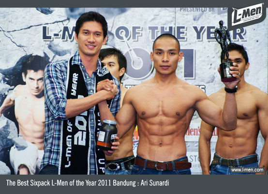 The Best Sixpack L-Men of the Year 2011 Bandung : Ari Sunardi