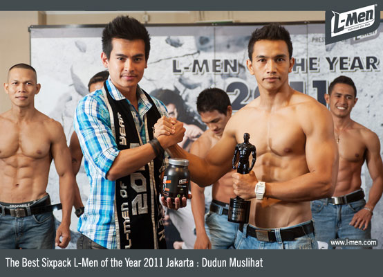 The Best Sixpack L-Men of the Year 2011 Jakarta: Dudun Muslihat