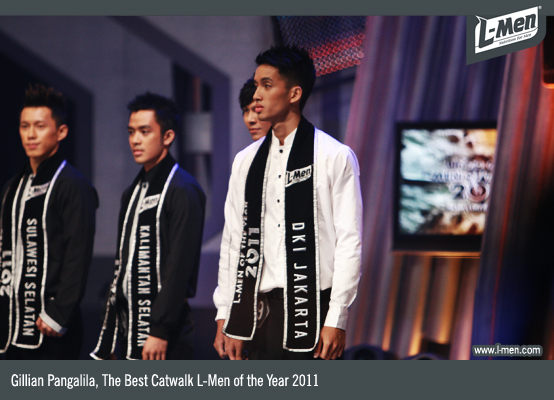 Gillian Pangalila, The Best Catwalk L-Men of the Year 2011