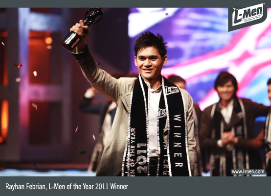 Reyhan Febrian, L-Men of the Year 2011 Winner
