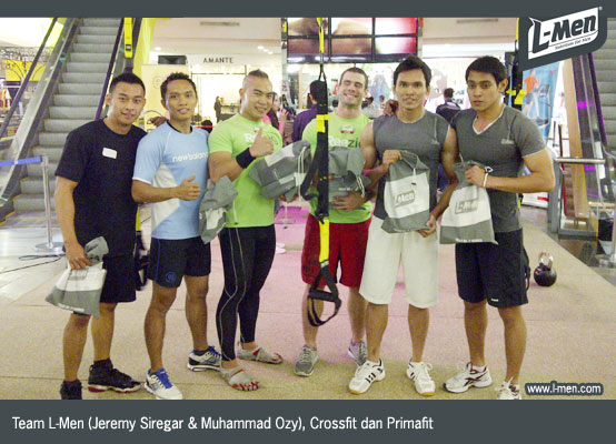 Team L-Men (Jeremy Siregar & Muhammad Ozy), Crossfit dan Primafit