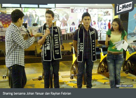 Sharing bersama Johan Yanuar dan Rayhan Febrian