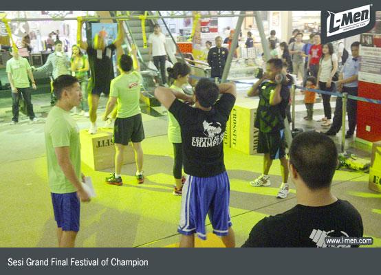 Sesi Grand Final Festival of Champion