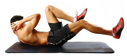 Cara Bentuk Otot Perut Six Pack Tanpa ke Gym
