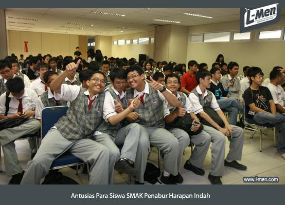 Antusias Para Siswa SMAK Penabur Harapan Indah