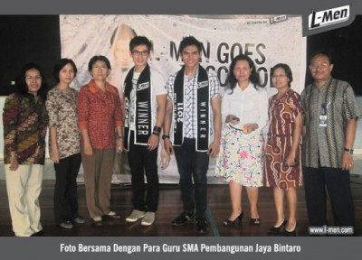NEWS - X/2011 - L-Men Goes to School : SMA Pembangunan Jaya Bintaro