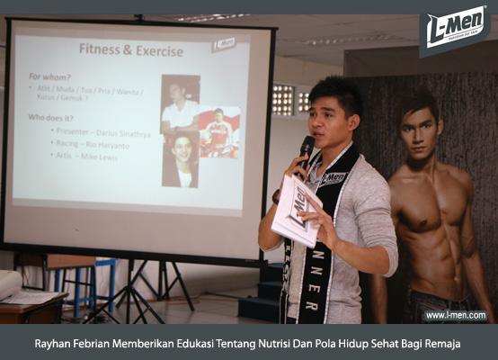 Rayhan Febrian Memberikan Edukasi Tentang Nutrisi Dan Pola Hidup Sehat Bagi Remaja
