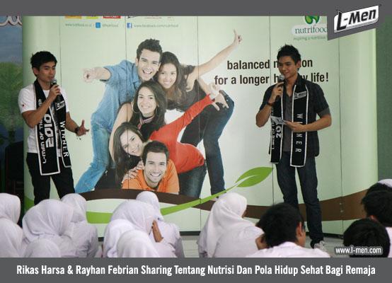 Rikas Harsa & Rayhan Febrian Sharing Tentang Nutrisi Dan Pola Hidup Sehat Bagi Remaja