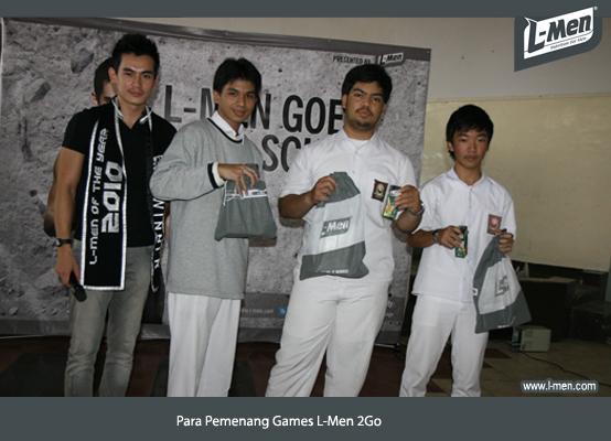 Para Pemenang Games L-Men 2Go