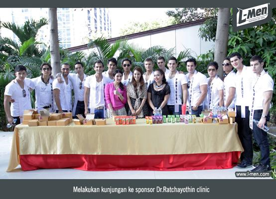 Melakukan kunjungan ke sponsor Dr.Ratchayothin clinic