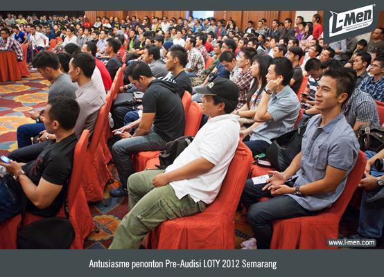 Antusiasme Penonton Pre-Audisi LOTY 2012 Semarang