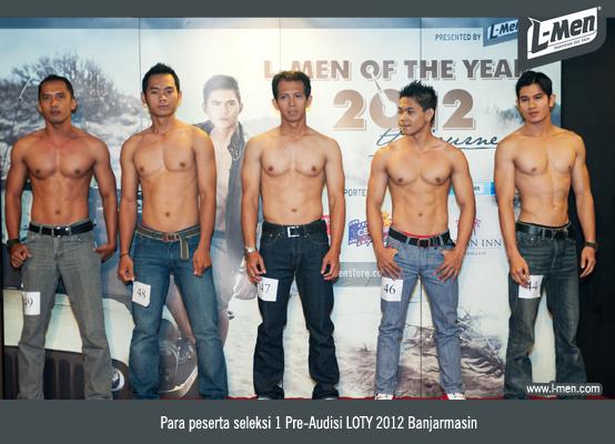 Para Peserta Seleksi 1 Pre-Audisi LOTY 2012 Banjarmasin