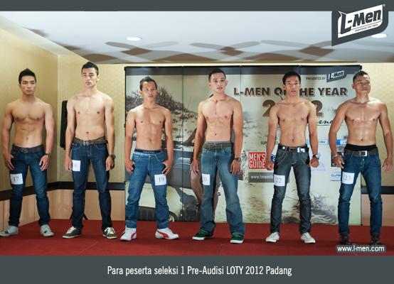 Para Peserta Seleksi 1 Pre-Audisi LOTY 2012 Padang