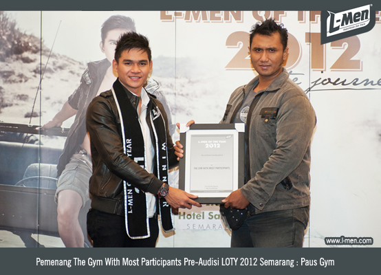 Pemenang The Gym With Most Participants Pre-Audisi LOTY 2012 Semarang: Paus Gym