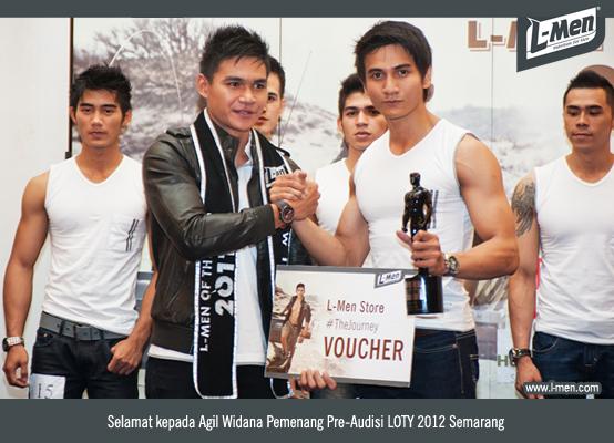Selamat Kepada Agil Widana Pemenang Pre-Audisi LOTY 2012 Semarang