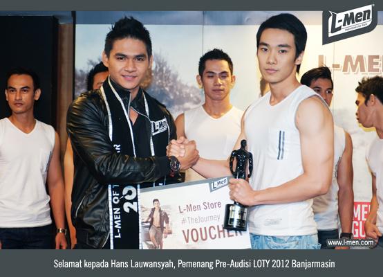 Selamat Kepada Hans Lauwansyah, Pemenang Pre-Audisi LOTY 2012 Banjarmasin