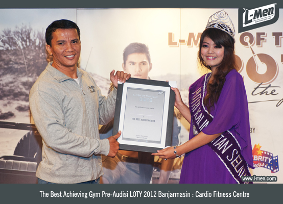 Pemenang The Best Achieving Gym: Cardio Fitness Center