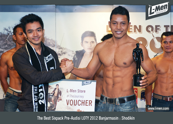 The Best Sixpack Pre-Audisi LOTY 2012 Banjarmasin: Shodikin