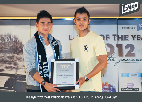 The Gym With Most Participats Pre-Audisi LOTY 2012 Padang: Gold Gym